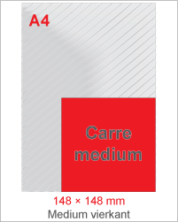 Carre medium