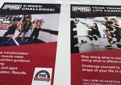 F45 posters